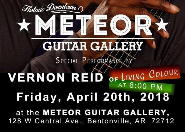 Vernon Reid Live at the Meteor