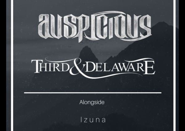Third and Deleware with special guests The Dryline, Vera Forever, Living with Ghosts, and  Izuna