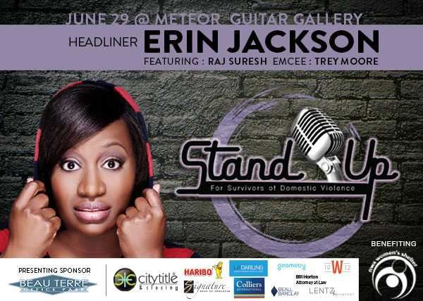 Standup for Survivors with Erin Jackson