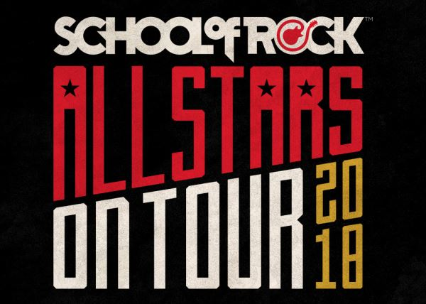 School of Rock Allstars 2018 Tour